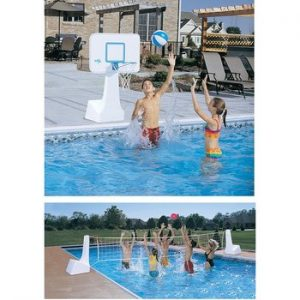 pool floating basketball hoop review