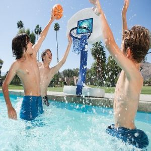 basketball goal for swimming pool