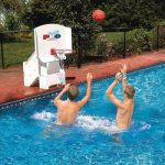 basketball hoops for pools