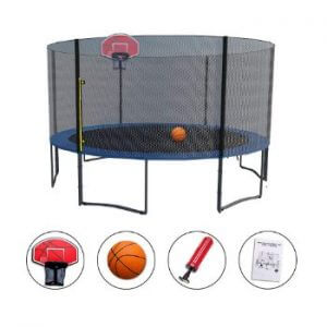 basketball goal for trampoline