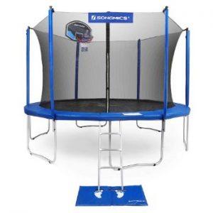 springfree trampoline basketball hoop