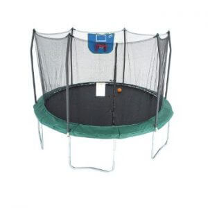 best trampoline with basketball goal