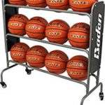 Basketball ball rack