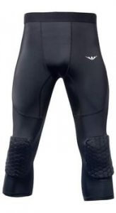best basketball compression pants with knee pads